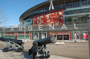 Arsenal fotbolls stadium