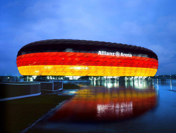 Allianz Arena under landslagsmatcher