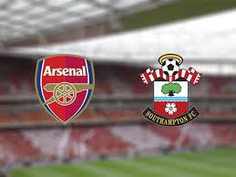 Tävla om slutresultatet i fotbollsmatchen Arsenal och Southampton ikväll