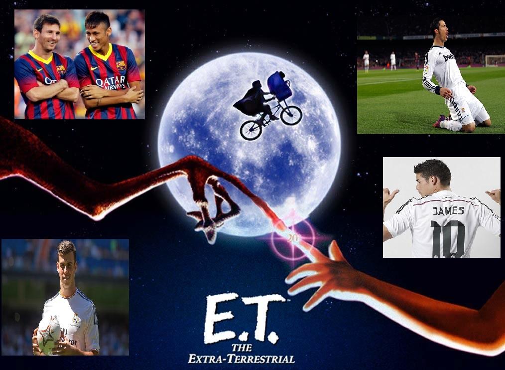 Ta fotbollsresan till Spanien och upplev spelare från en annan planet!