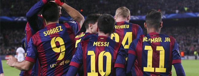 Los tres amigos, ska de föra Barcelona till Champions league-titeln?