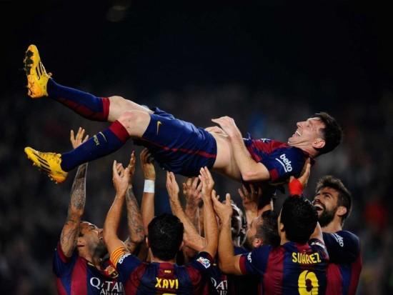Lionel Messi som renodlad innermittfältare, logiskt efter veckans magiska insatser!