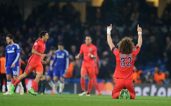Ja Luiz, vi tackar också högre makter för den där j*vla Champions!