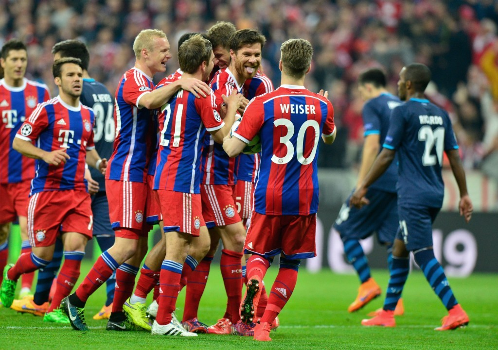 Insatsen mot Porto har på vissa håll kallats Champions Leagues bästa någonsin. Återstår att se hur bra Bayern är nu när FC Barcelona väntar! Foto: Thehardtackle.com
