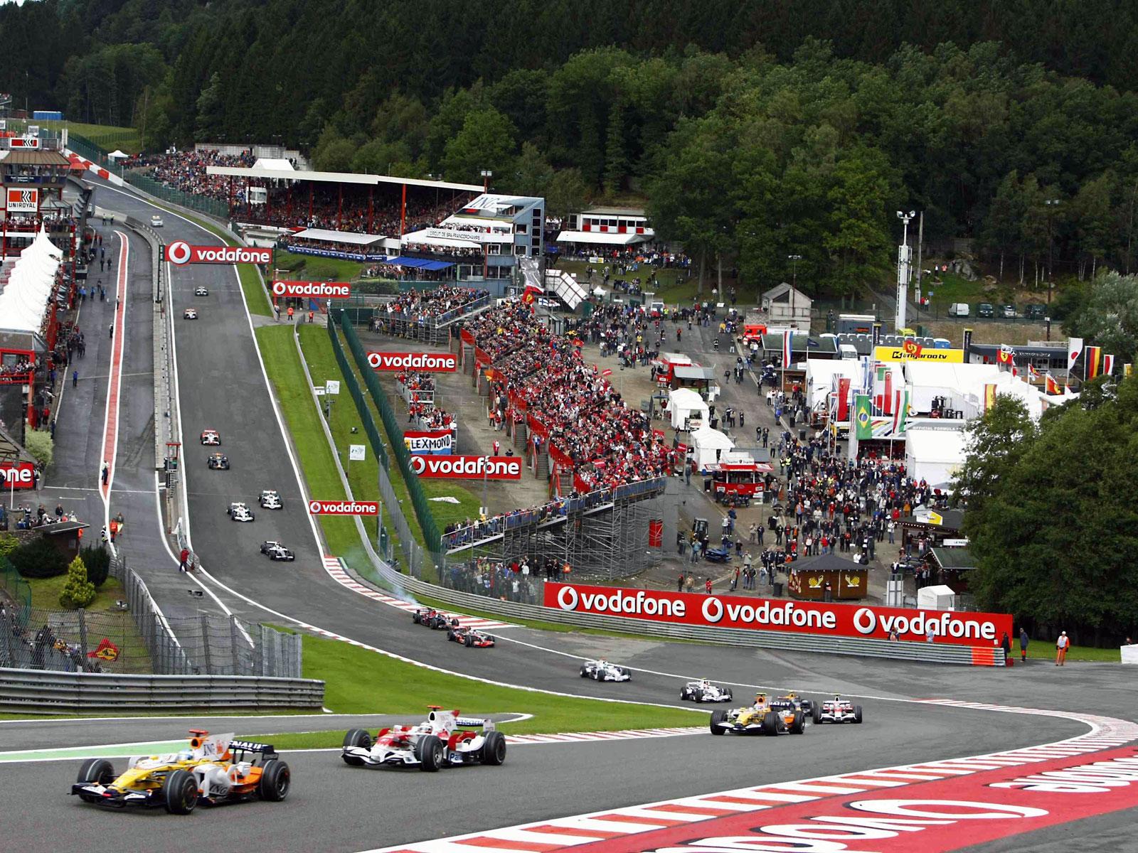 F1 resor till Belgien, Italien, Spanien, Monaco mm