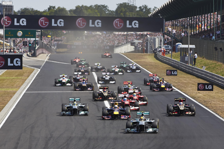Formel 1 resa till Ungern 2016
