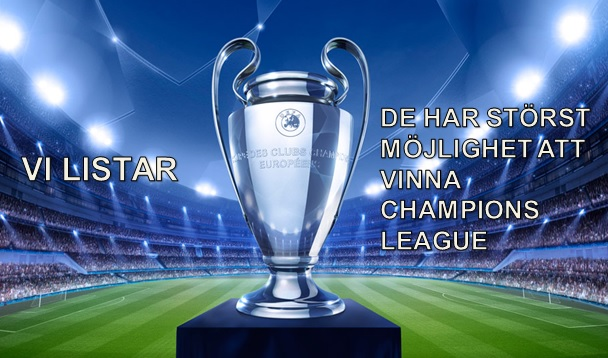 De vinner Champions League 2015/2016. LISTA 1-5!