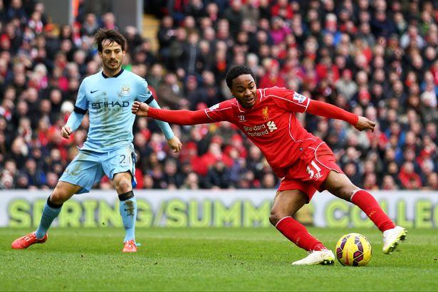 Sterling, nu i Manchester City kan ställas mot Liverpool i en möjlig final. Det vore något det. Foto: Manchesterevenignews