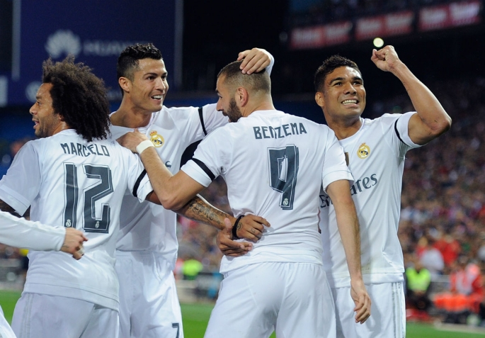 real-madrid-celebrates-karim-benzemas-opening-goal-in-the-recent-madrid-derby