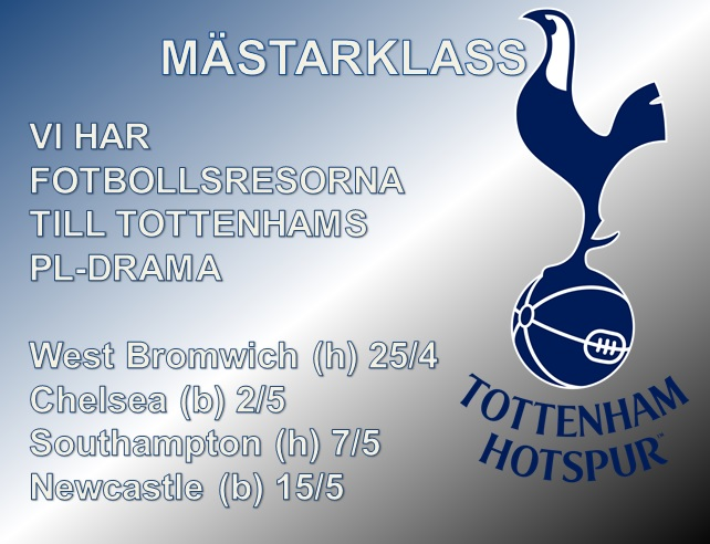 Mästerligt Tottenham