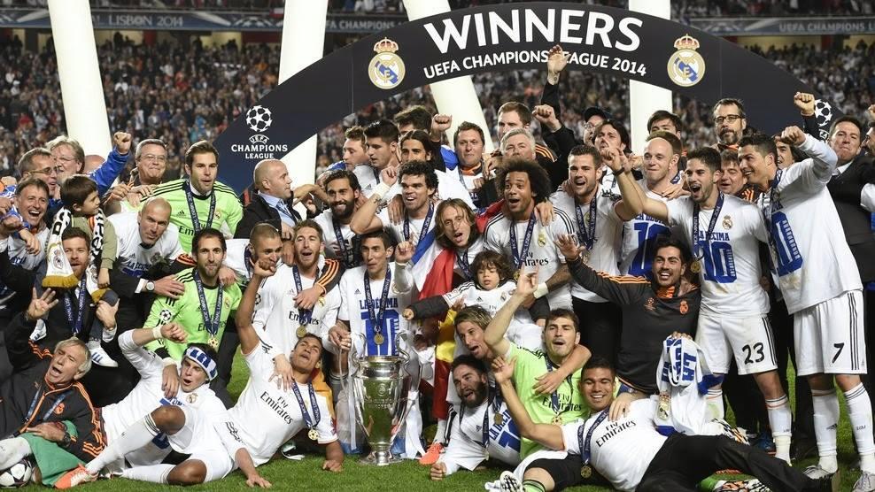 Real Madrid är Champions League mästare!