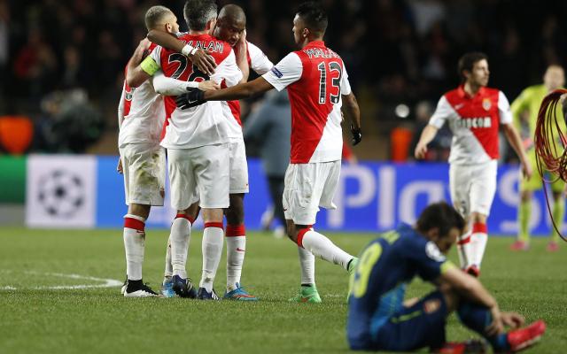 Arsenal nära historisk vändning men Monaco drog längsta strået!