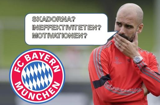 4 missar & frågetecken inför semifinalen mot FC Barcelona för Bayern München!