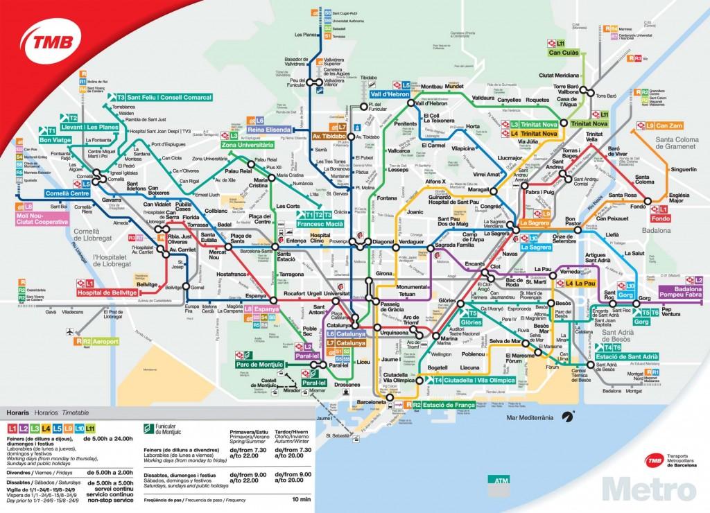 Karta Over Sevardheter I Barcelona.Fotbollsresa Till Barcelona Las Var Guide Innan Din Resa