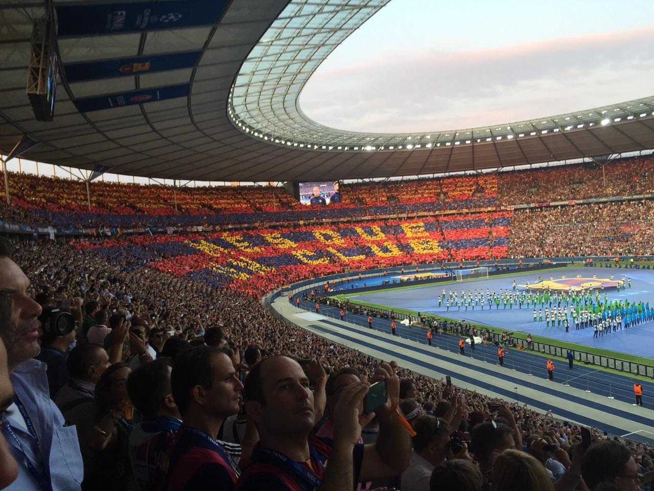 Champions League Finalen var magisk på plats!