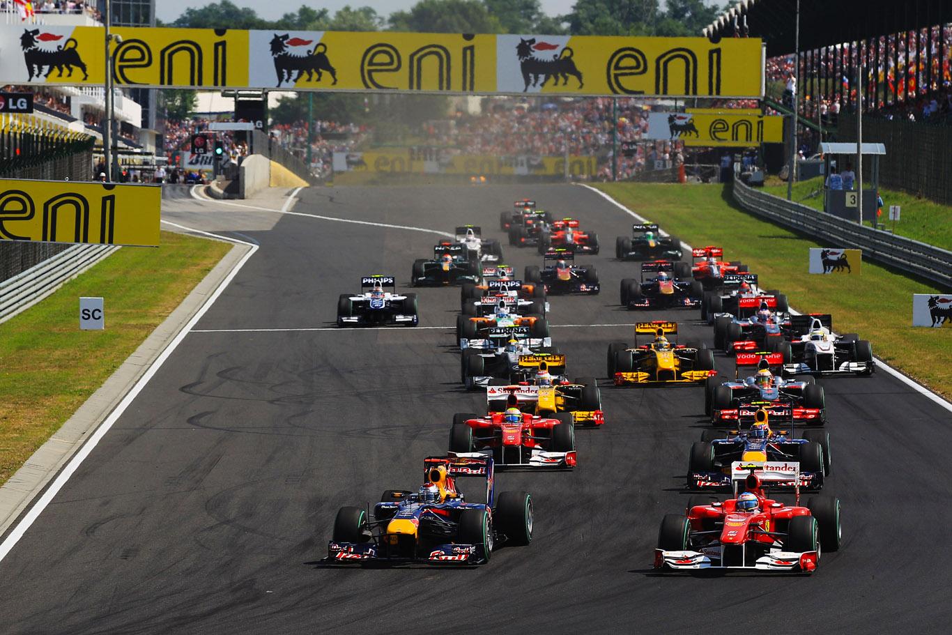 Guide för Formel 1 resor till Ungern & Budapest