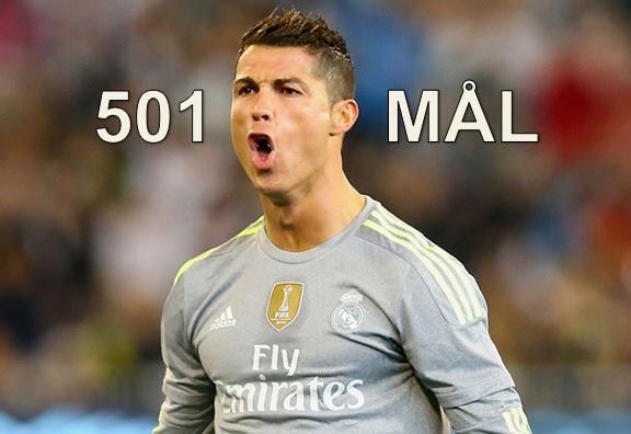 501 mål – Här är sagan om Cristiano Ronaldo