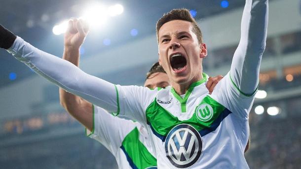 Julian Draxler blir viktig om Wolfsburg ska fortsätta sin resa i CL