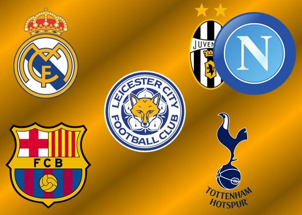 5 (6) lag att följa under slutet av säsongen